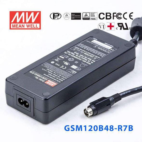 Mean Well GSM120B48-R7B Power Supply 120W 48V