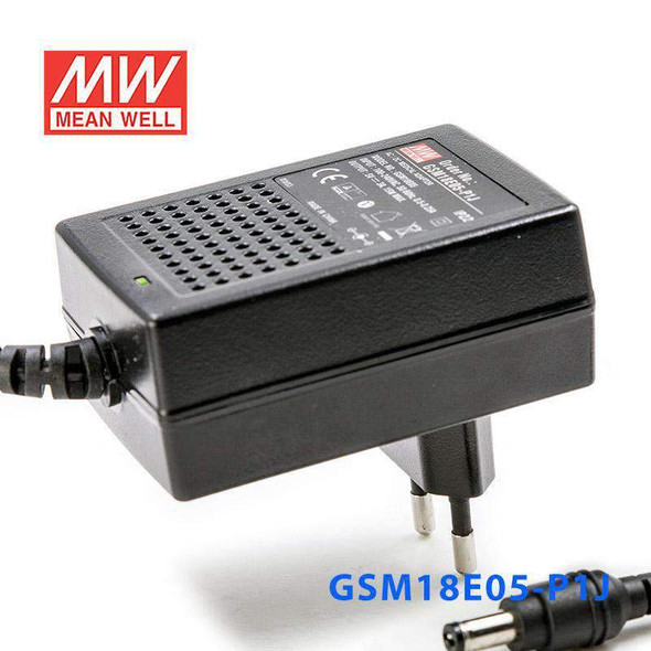 Mean Well GSM18E05-P1J Power Supply 15W 5V