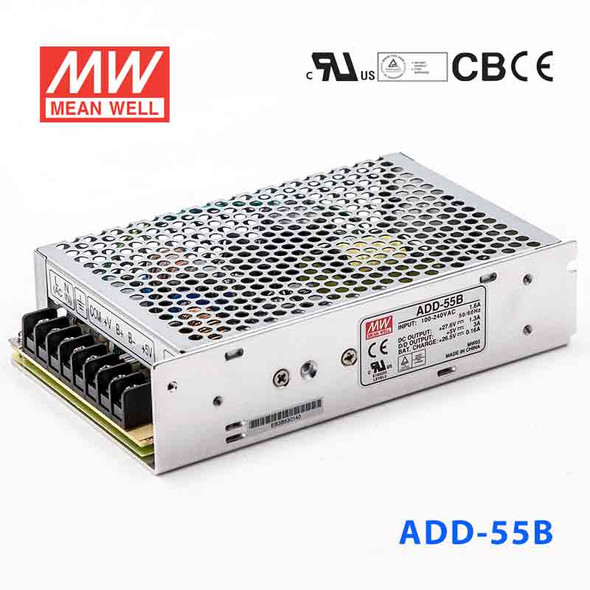 Mean Well ADD-55B Security Power Supply 55.12W 27.6V 5V 1.3A - UPS, Dual output