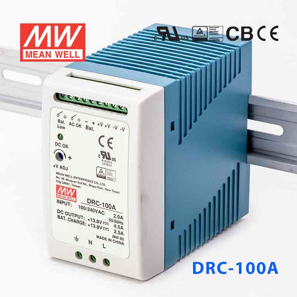 Mean Well DRC-100A Power Supply 96.6W 13.8V