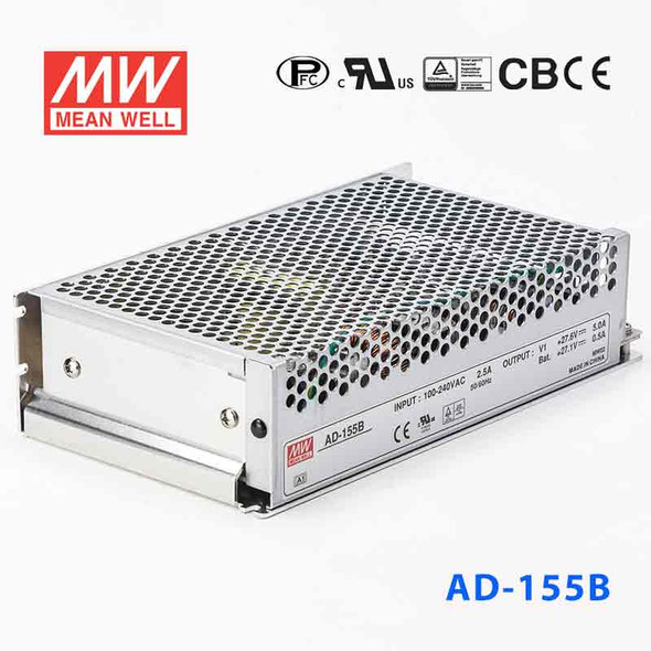 Mean Well AD-155B Security Power Supply 151.55W 27.6V 5A - UPS