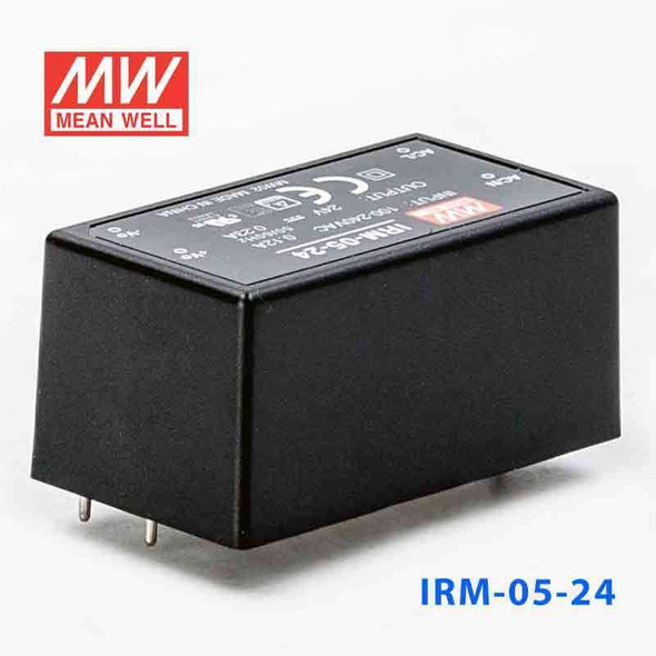 Mean Well IRM-05-24 Switching Power Supply 5.52W 24V 0.23A - Encapsulated