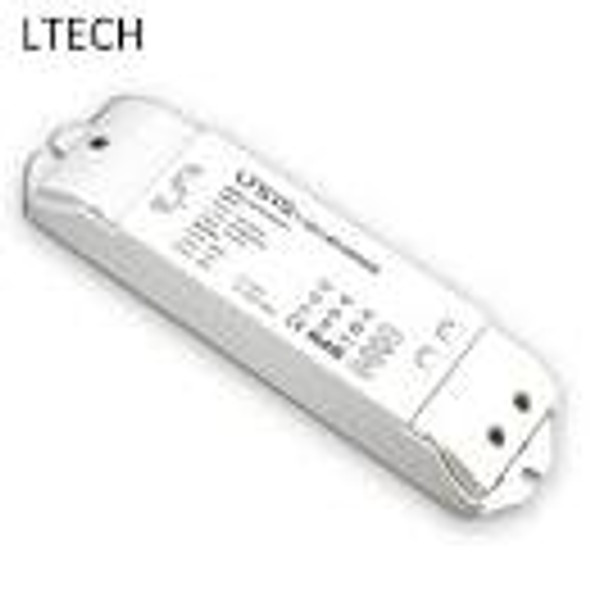 LTECH AD-36-24-F1P1 36W 24VDC CV LED Driver - 0/1-10Vdimmable