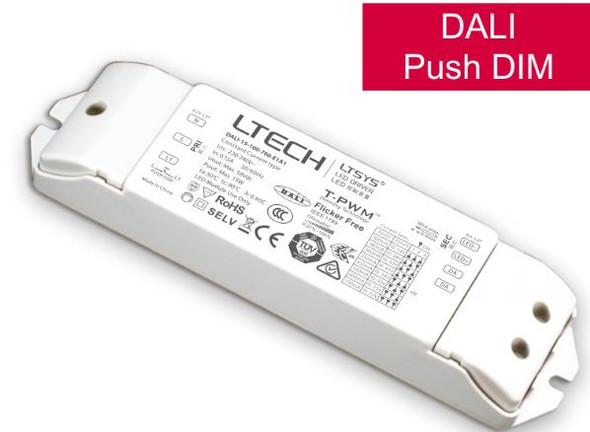LTECH DALI-15-100-700-E1A1 15W 100mA ~700mA CC Dali LED Driver - Selectable Output