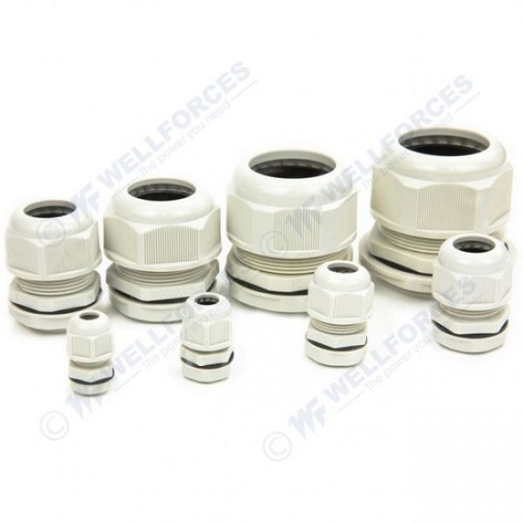 Boxco Plastic Cable Gland 3~6.5mm Cable Range BC-M-12