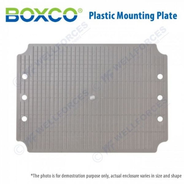 Boxco Plastic Mounting Plate 0816P