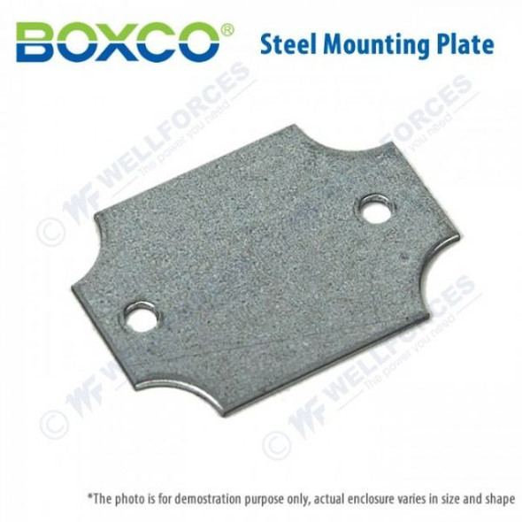 Boxco Aluminium Mounting Plate 0825A