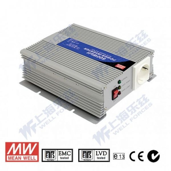 Mean Well A302-600-F5 Modified sine wave 600W 230V  - DC-AC Inverter
