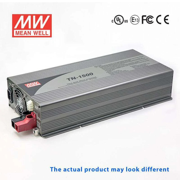 Mean Well TN-1500-124F True Sine Wave 40W 110V 30A - DC-AC Power Inverter