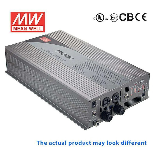 Mean Well TN-3000-224D True Sine Wave 40W 230V 30A - DC-AC Power Inverter