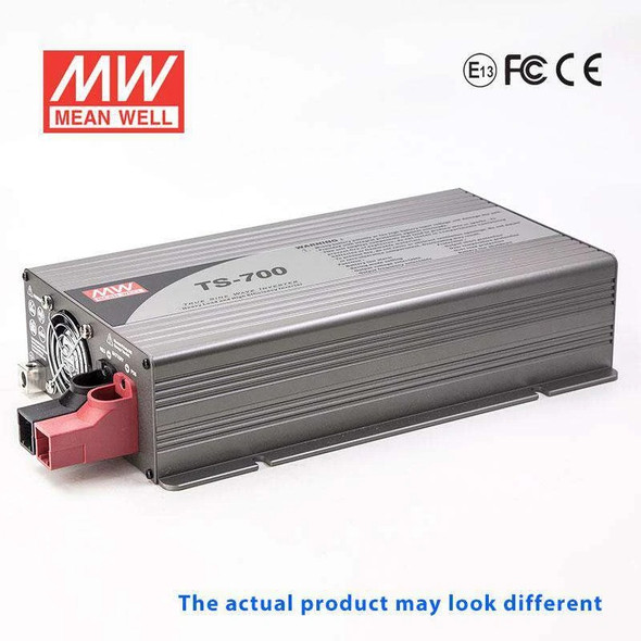 Mean Well TS-700-148A True Sine Wave 700W 110V 19A - DC-AC Power Inverter