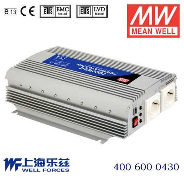 Mean Well A302-1K0-B2 Modified sine wave 1000W 110V  - DC-AC Inverter