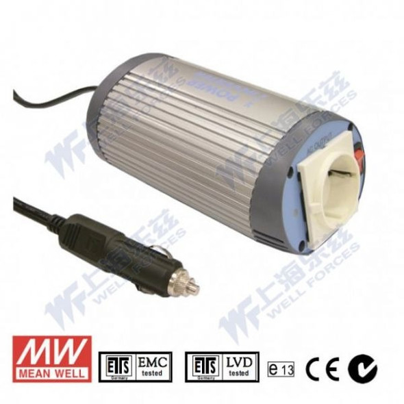 Mean Well A302-100-F5 Modified sine wave 100W 230V  - DC-AC Inverter
