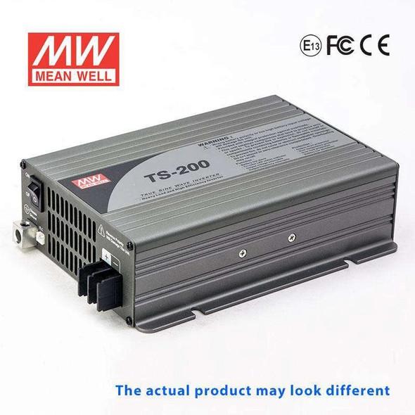 Mean Well TS-200-224C True Sine Wave 200W 230V 10A - DC-AC Power Inverter