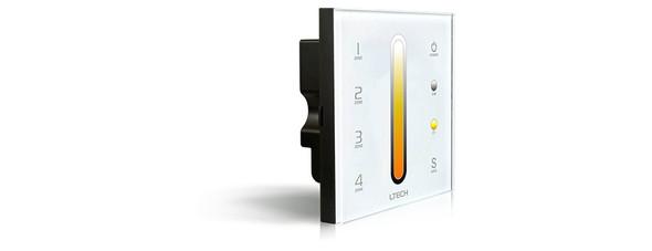 Ltech DX6 Wireless RF/DMX512 Multi-zone Touch Panel - Colour Temperature