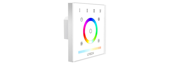 Ltech E5S Multi-zone Touch Panel - RGBWW