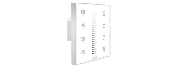 Ltech E1S-AD Touch Panel - 0-10V/10V PWM Dimmer