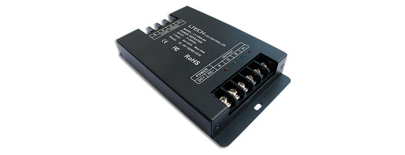Ltech LT-3060-8A PWM Constant Voltage Repeater - RGB