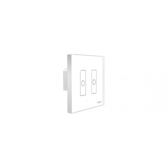 Ltech EDA2 2 Switch Touch Panel - DALI Master Dimmer