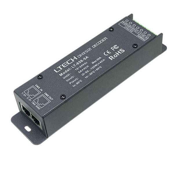 Ltech LT-858-5A Constant Voltage Decoder - DMX