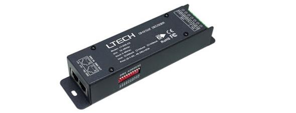 Ltech LT-858-CC Constant Current Decoder - DMX/RDM