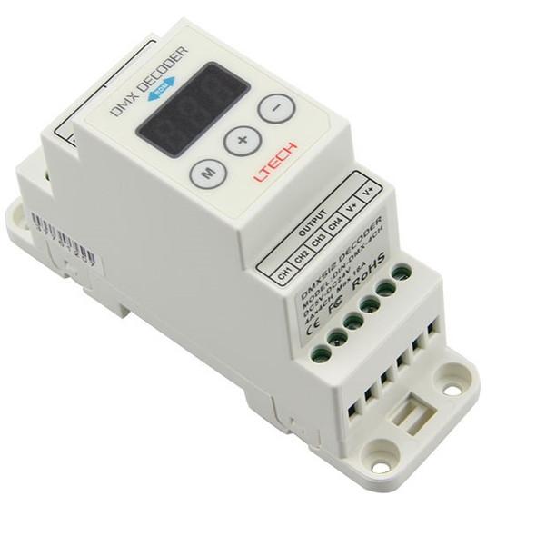 Ltech DIN-DMX-350 Constant Current Decoder - DMX/RDM