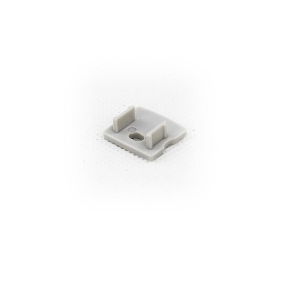 End cap (with hole) for Aluminum Extrusion -EXLP02