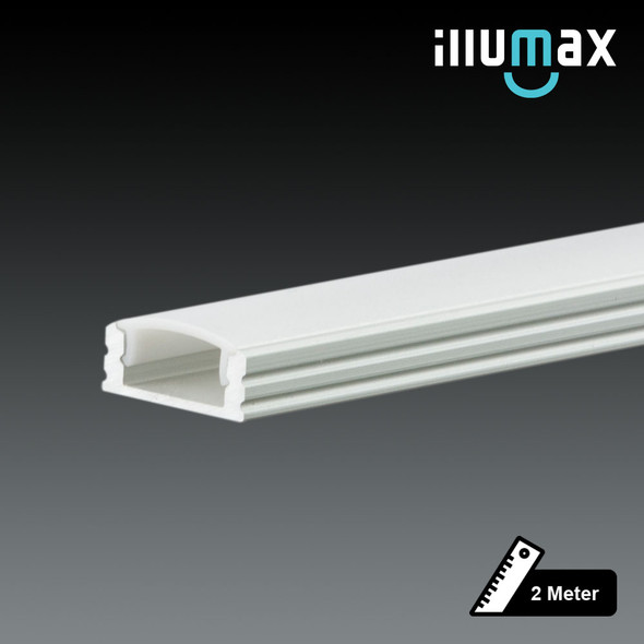 LED Extrusion Z-EXLP03-W Linear Profile - 2 Metres