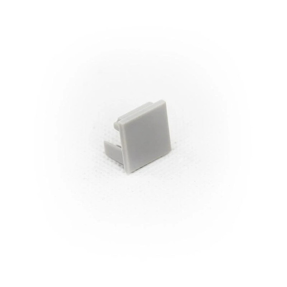 End cap (with hole) for Aluminum Extrusion -EXCR02