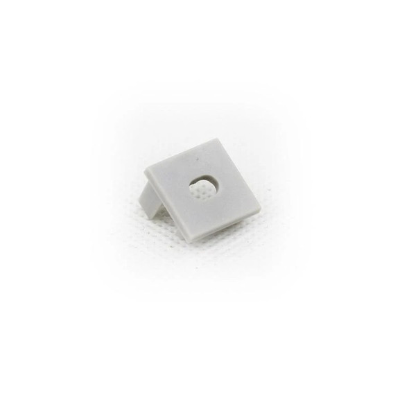 End cap (without hole) for Aluminum Extrusion -EXCR02