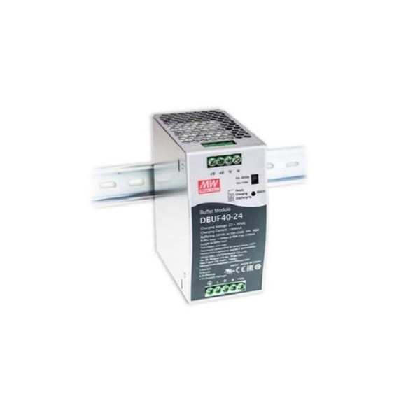 Mean Well DBUF40-24 Buffer Module Power 24V 40A Supply  - DIN Rail