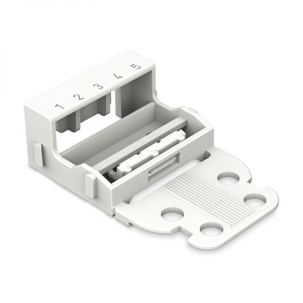 Wago 221-505 Mounting Carrier - 5-Conductor Terminal Block 221 Series