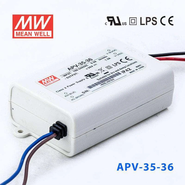 Mean Well APV-35-36 Power Supply 36W 36V