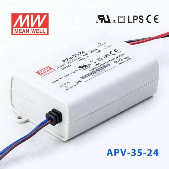 Mean Well APV-35-24 Power Supply 36W 24V