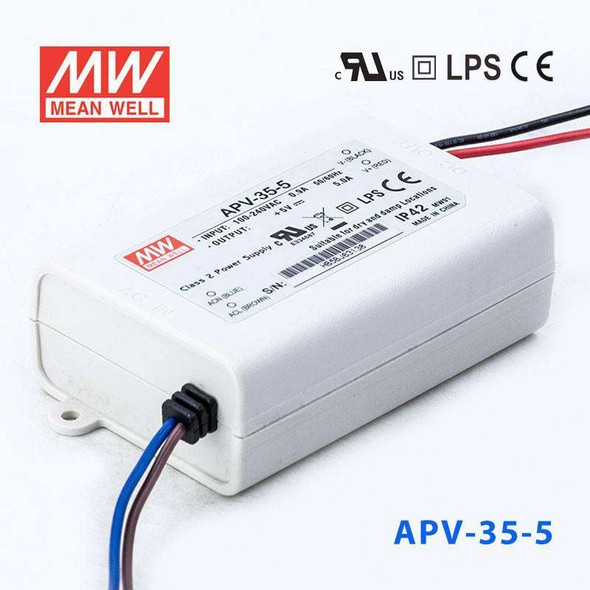 Mean Well APV-35-5 Power Supply 25W 5V