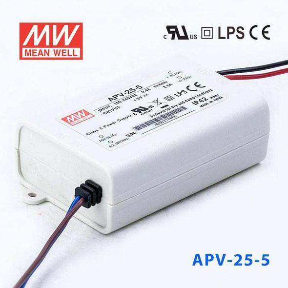 Mean Well APV-25-5 Power Supply 16W 5V