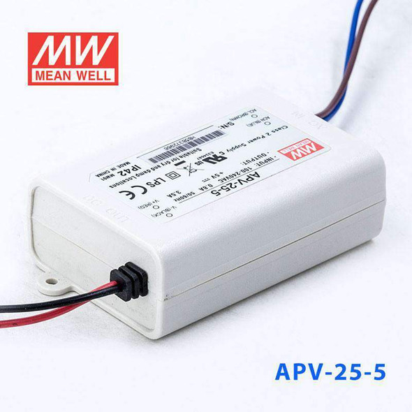 Mean Well APV-25-5 Power Supply 16W 5V