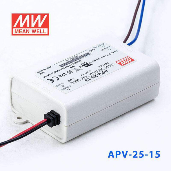 Mean Well APV-25-15 Power Supply 25W 15V