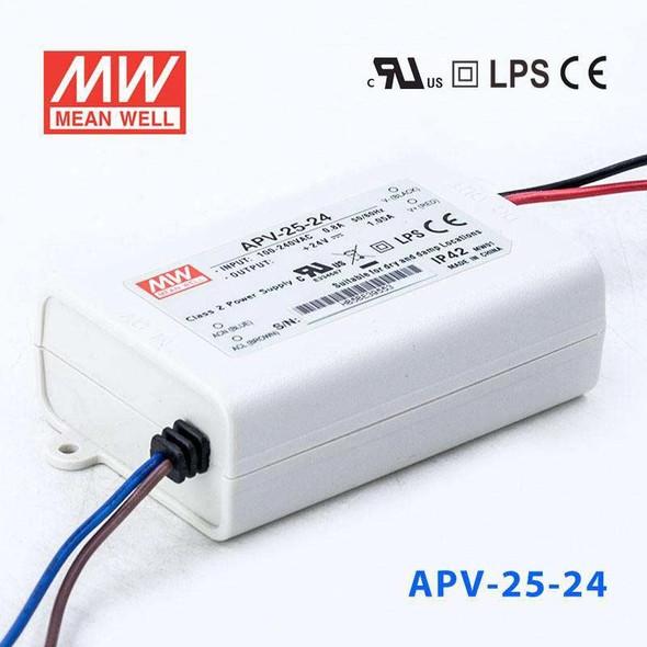 Mean Well APV-25-24 Power Supply 25W 24V