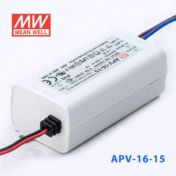 Mean Well APV-16-15 Power Supply 15W 15V
