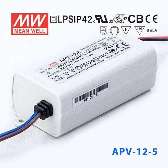 Mean Well APV-12-5 Power Supply 10W 5V