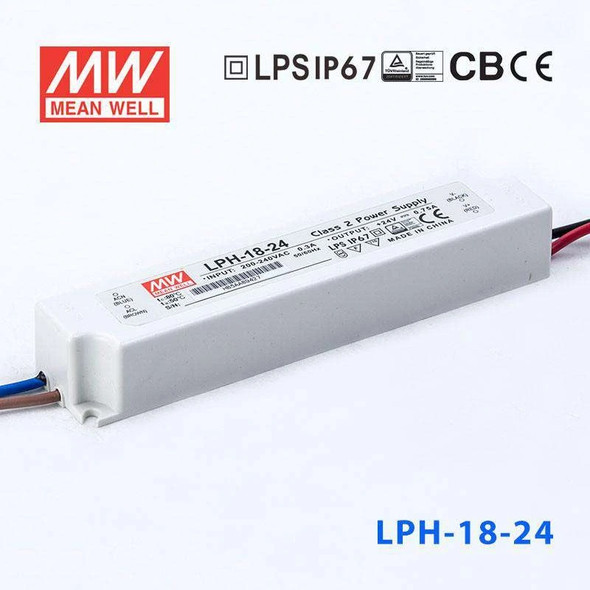 Mean Well LPH-18-24 Power Supply 18W 24V