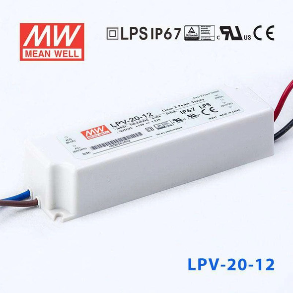 Mean Well LPV-20-12 Power Supply 20W 12V