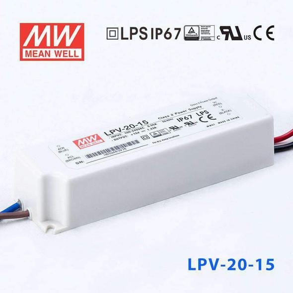 Mean Well LPV-20-15 Power Supply 20W 15V