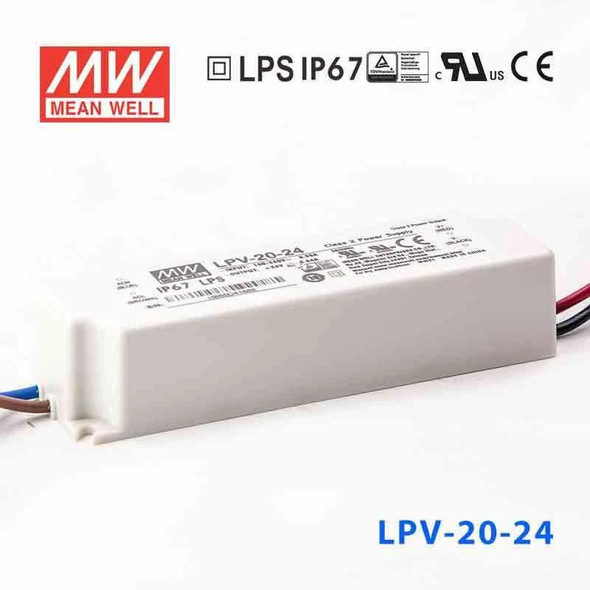 Mean Well LPV-20-24 Power Supply 20W 24V