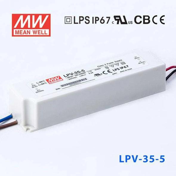 Mean Well LPV-35-5 Power Supply 35W 5V