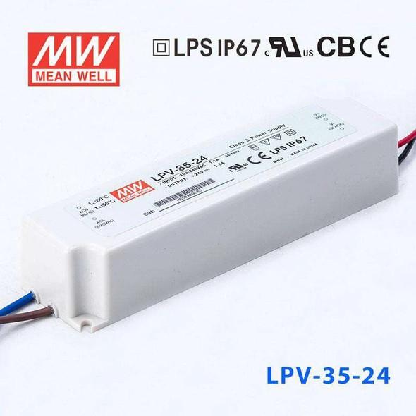 Mean Well LPV-35-24 Power Supply 35W 24V