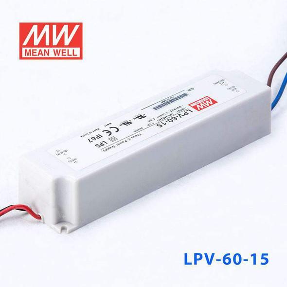 Mean Well LPV-60-15 Power Supply 60W 15V