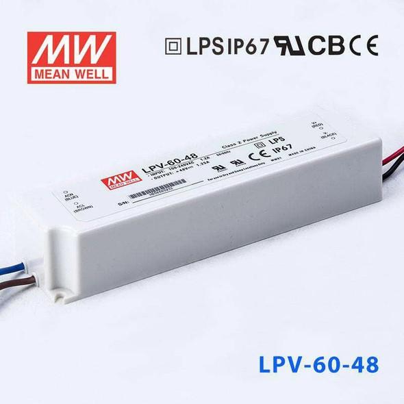 Mean Well LPV-60-48 Power Supply 60W 48V
