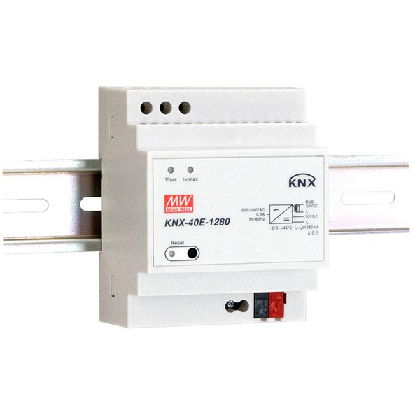 Mean Well KNX-40E-1280D KNX Power Supply 1280mA - Diagnostic